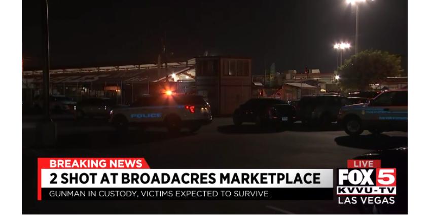 Полиция Северного Лас-Вегаса расследует стрельбу в торговом центре Broadacres swap meet