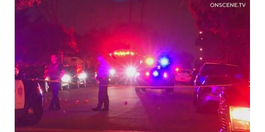Полиция разбирается в обстоятельствах стрельбы возле жилого комплекса в Южном Лос-Анджелесе