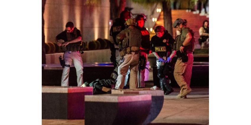 Беспорядки в Лас-Вегасе: убит один из подозреваемых, ранен полицейский