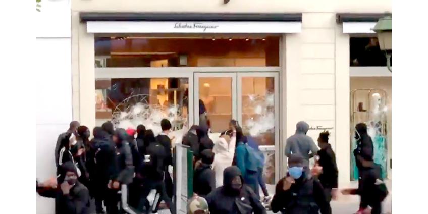 В Брюсселе мирные акции протеста переросли в беспорядки