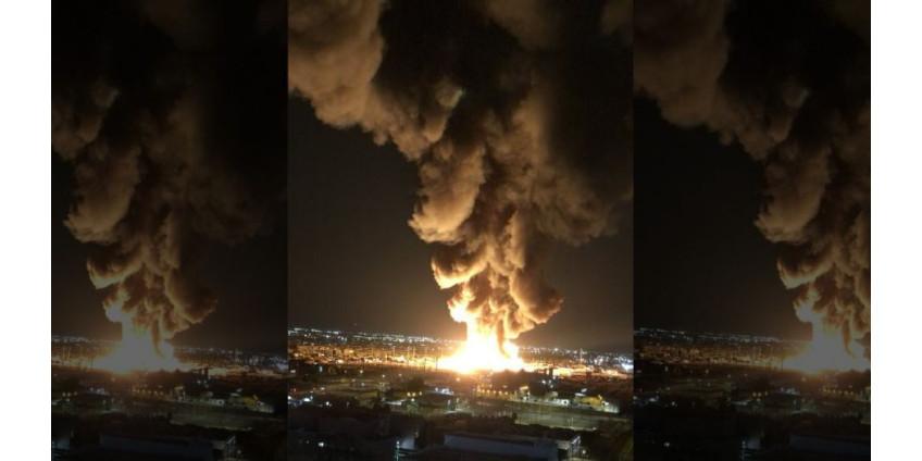 В Финиксе нашли подозреваемого в крупном пожаре в центре города