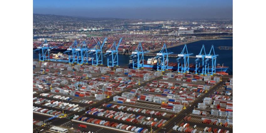 В мае на 30% сократился контейнерооборот порта Лос-Анджелеса