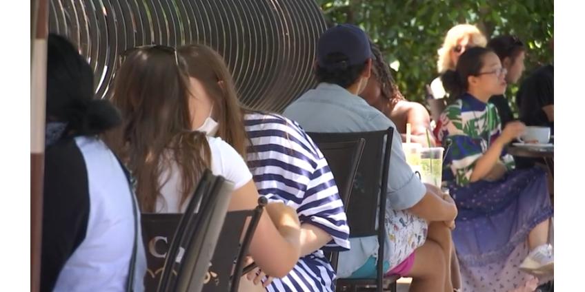 Сотни ресторанов Южной Калифорнии нарушают правила предотвращения распространения COVID-19
