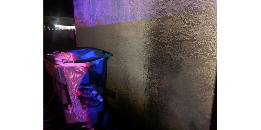 Пожар в одном из частных домов в Лас-Вегасе вызван фейерверком в мусорном баке
