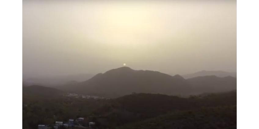 Пыль из Сахары накрыла Карибы и может охватить значительную часть территории США