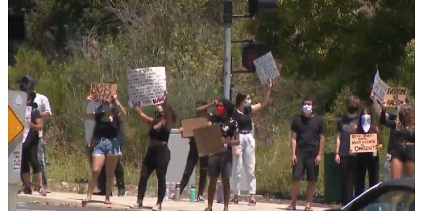 В округе Сан-Диего продолжаются акции протеста против расовой несправедливости