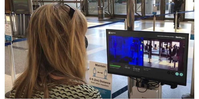 В аэропорту Лос-Анджелеса появились термометрические камеры