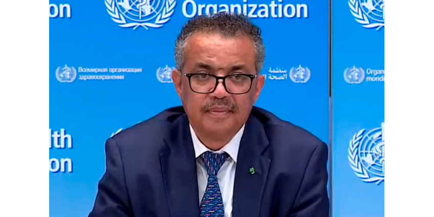 """""""Это даже близко не конец"""": Глава ВОЗ заявил об ускорении распространения пандемии коронавируса"""