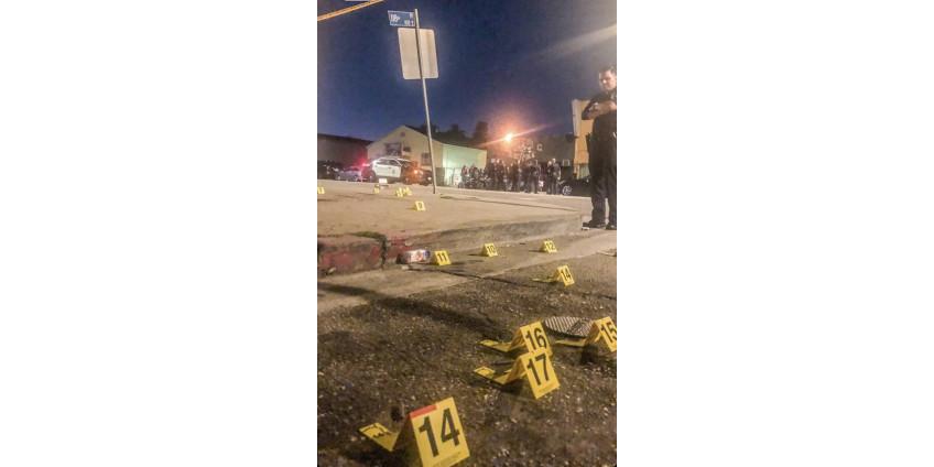 Южное бюро полиции Лос-Анджелеса сообщает об увеличении числа убийств на 140% по сравнению с предыдущими 28 днями