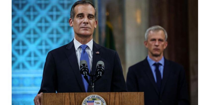 Мэр Гарсетти признает, что Лос-Анджелес открылся слишком рано