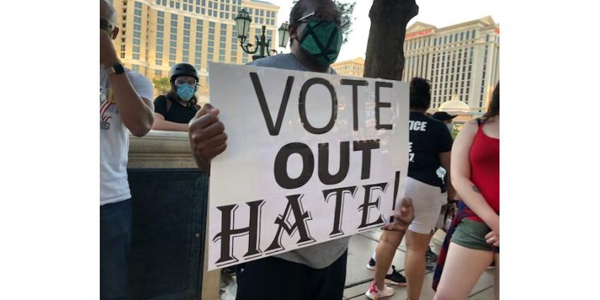 Акция протеста Black Lives Matter прошла на Лас-Вегас-Стрип