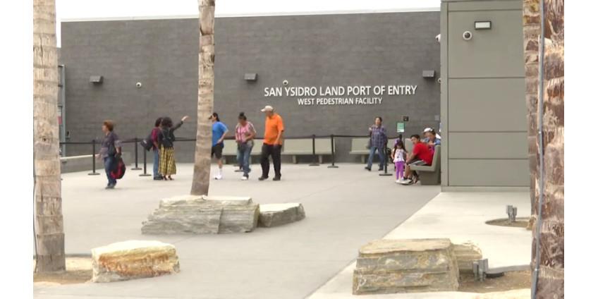 Сан-Диего предложит тесты на коронавирус на границе США и Мексики