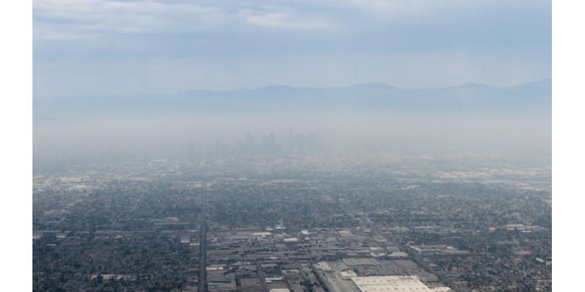 Пожары в Лос-Анджелесе ухудшили качество воздуха