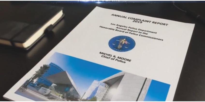Жалобы на сотрудников полиции Лос-Анджелеса возросли в 2019 году