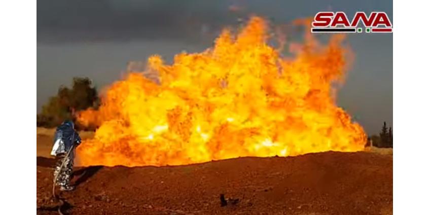 Сирия осталась без электричества из-за взрыва на электростанции, который считают терактом