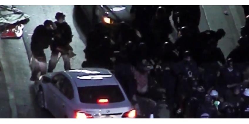 В ходе протестов в Лос-Анджелесе были задержаны 10 человек