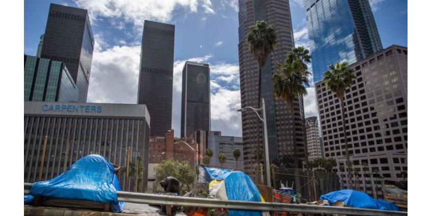 Число бездомной молодежи Лос-Анджелеса выросло более чем на 18,5% по сравнению с 2019 годом