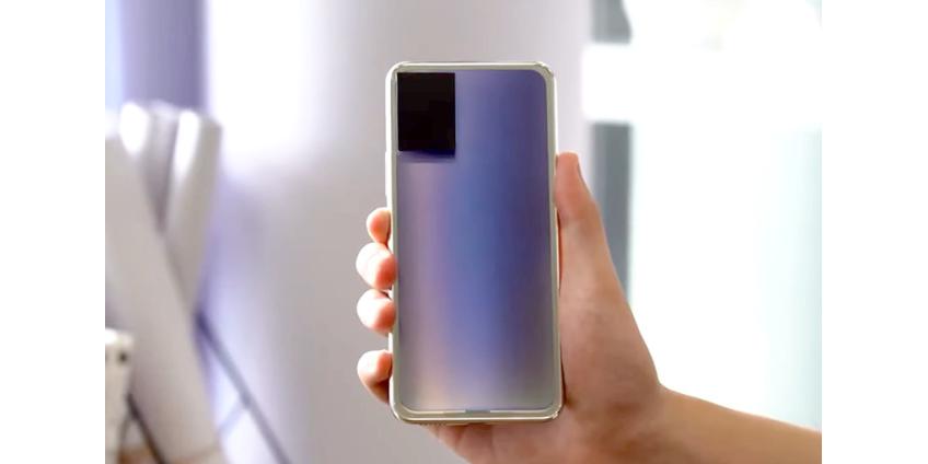 Компания Vivo показала прототип меняющего цвет смартфона
