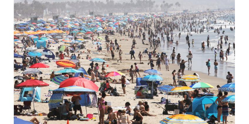 В округе Лос-Анджелес зарегистрирована 6000-ая смерть от коронавируса