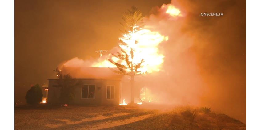 В Сан-Диего распределяют средства для помощи пострадавшим от пожаров