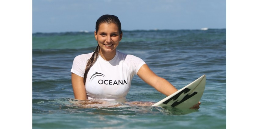 Бразильская серфингистка Майя Габейра покорила волну рекордной высоты