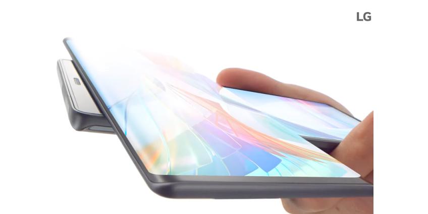 LG представила смартфон Wing с поворотным экраном