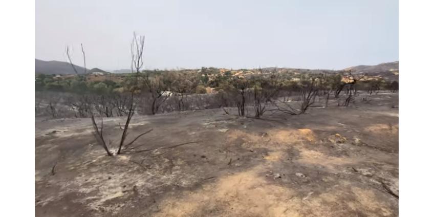 Valley Fire локализован на 87%, идет оценка ущерба