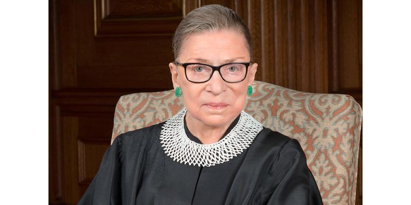 В США скончалась легендарная защитница прав женщин, старейшая судья Верховного суда Рут Гинзбург
