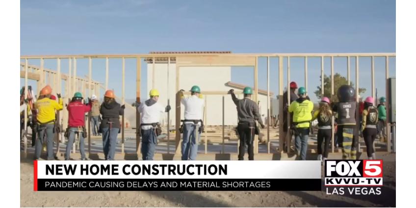 Строительство новых домов в Лас-Вегасе замедлилось из-за нехватки пиломатериалов