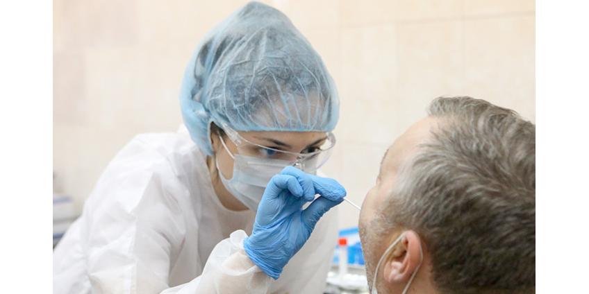 В России второй день подряд больше 7 тысяч новых случаев COVID-19
