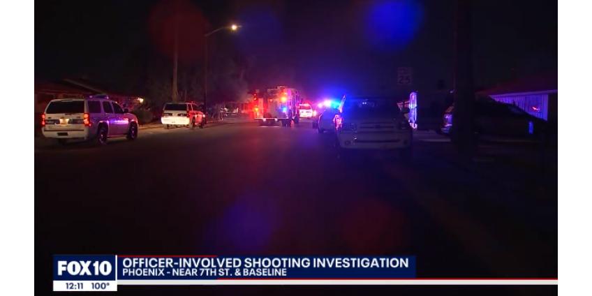 Полицейские из Финикса ранили вооруженного мужчину недалеко от 7th Street и Baseline