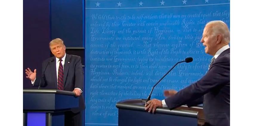 После первых дебатов Байден опережает Трампа в предвыборной гонке на 14%
