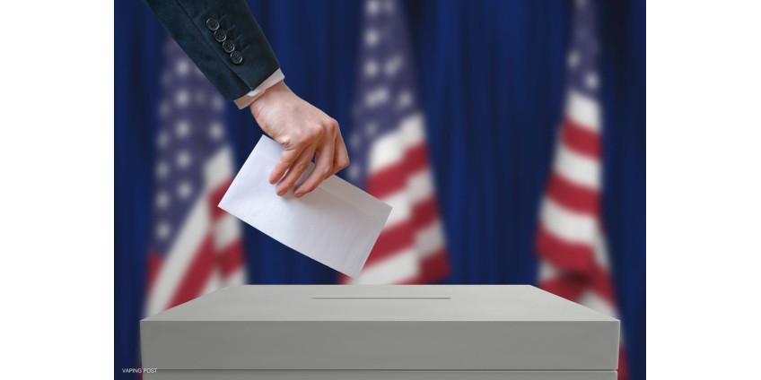 В Лос-Анджелесе неизвестные подожгли урну для голосования