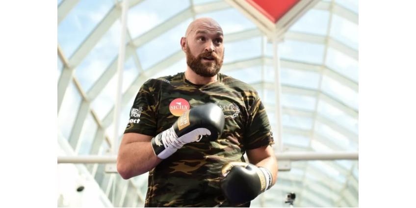 Британский боксер Фьюри проведет следующий поединок 5 декабря