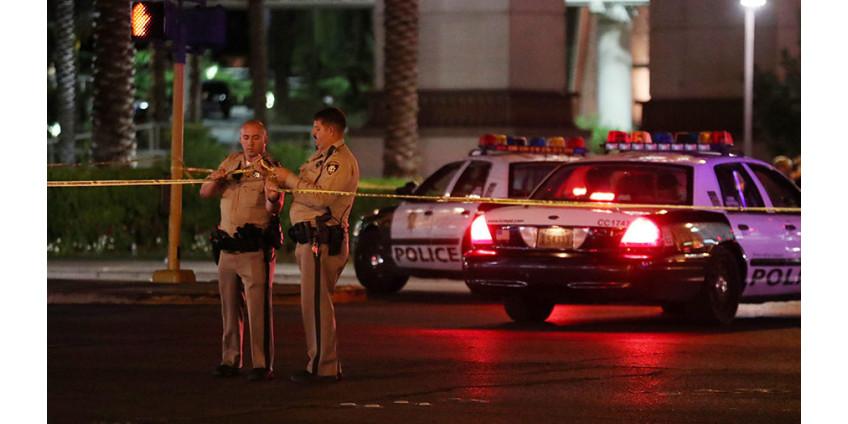 В Лас-Вегасе на автозаправочной станции произошла стрельба, есть раненный
