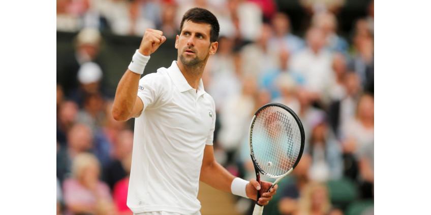 Теннисист Новак Джокович повторит рекорд Пита Сампраса