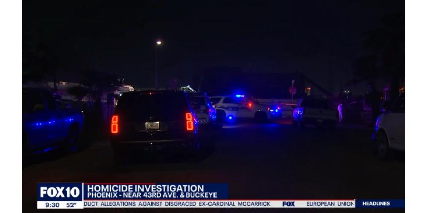 В Западном Финиксе была убита женщина