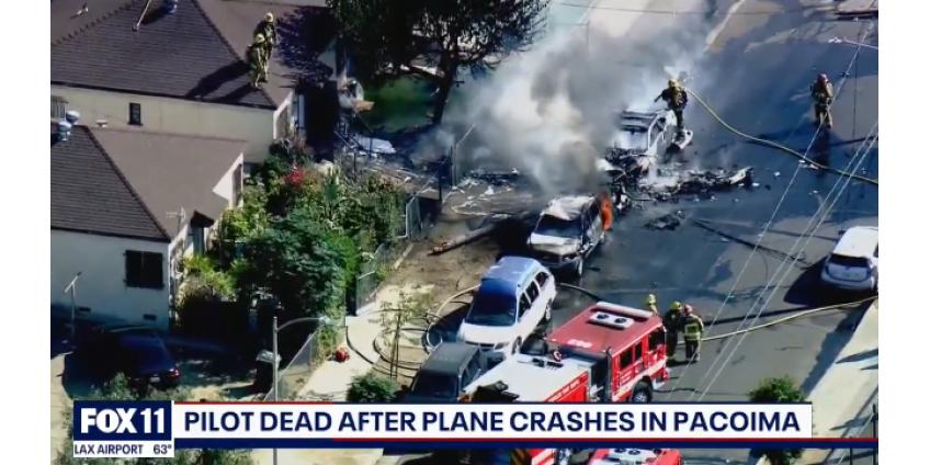 В результате авиакатастрофы недалеко от аэропорта Уайтман в Пакоиме погиб пилот