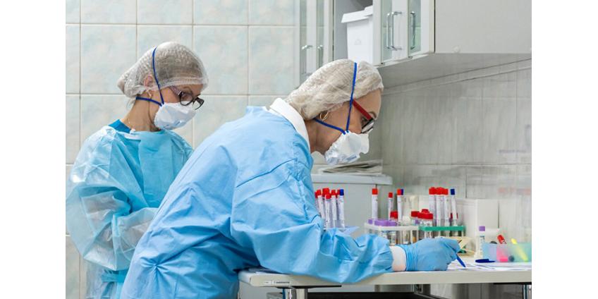 В России поставлен очередной рекорд по числу новых случаев коронавируса: 24 318 случаев за сутки, 461 пациент умер