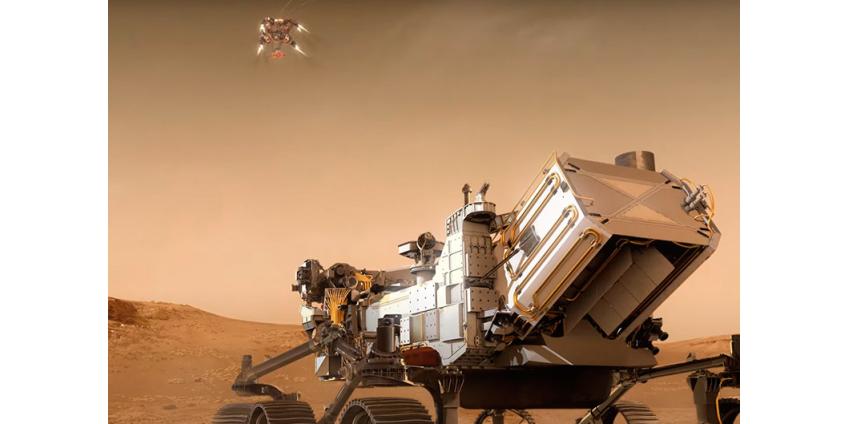 В NASA подготовили анимированное ВИДЕО будущей посадки марсохода Perseverance