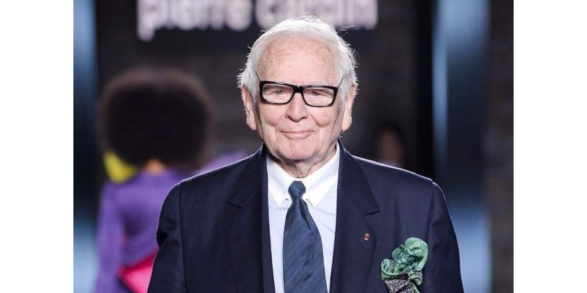 В Париже умер модельер Пьер Карден. Ему было 98 лет