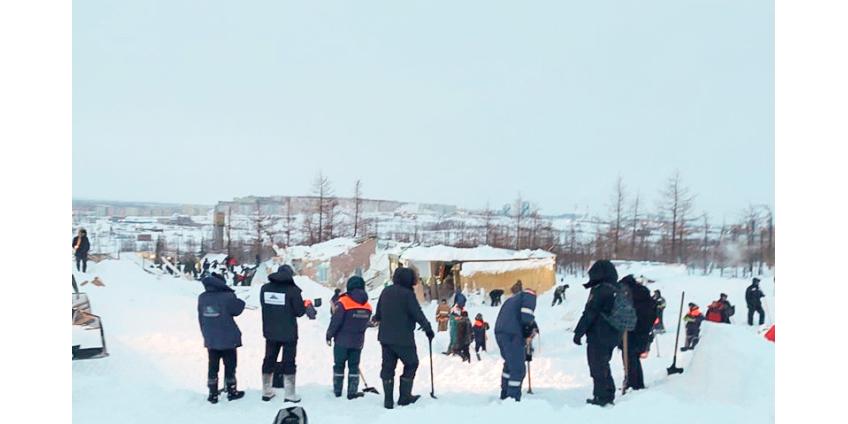 Полуторагодовалый ребенок и его родители погибли при сходе лавины в Норильске
