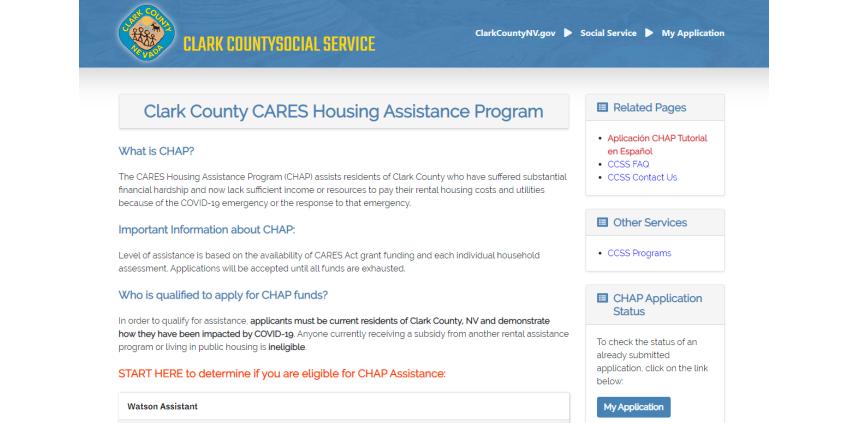 Округ Кларк запускает сайт, на котором люди могут подать заявку на получение жилищно-коммунальной помощи