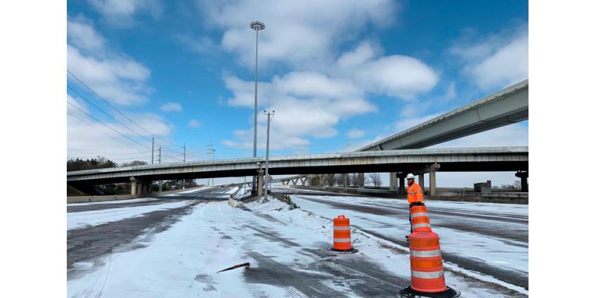 Более 20 городов США побили рекорды низкой температуры