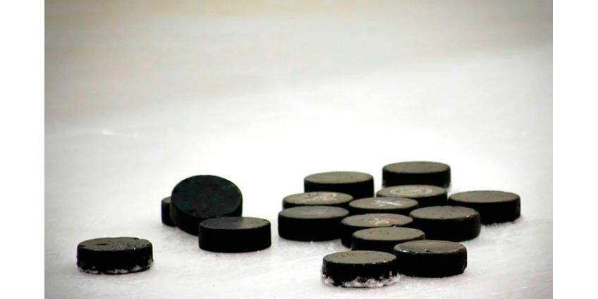 Из-за плохого льда на озере был прерван матч регулярного чемпионата НХЛ