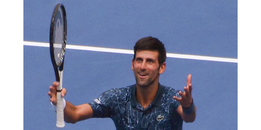 Теннисист Новак Джокович повторил рейтинговый рекорд Роджера Федерера