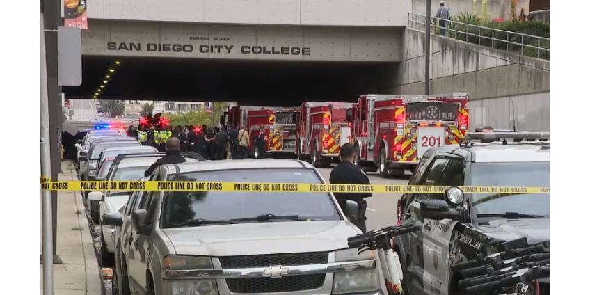 В Сан-Диего под колесами автомобиля погибли три человека