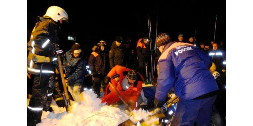 В Мурманской области сошла лавина. Погибла 12-летняя девочка