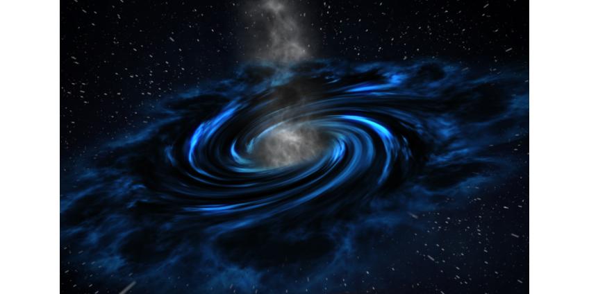 """Астрономам удалось """"увидеть"""" магнитные поля вокруг черной дыры"""