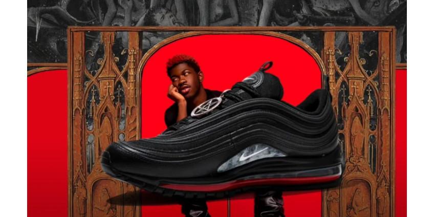 Nike подает в суд на рэпера, который создал сатанинские кроссовки с кровью